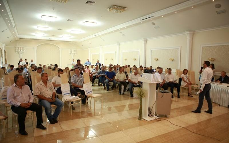 FOTO. Timac Agro East a prezentat la Chișinău rezultatele testării în Franța a peste 100 de probe de sol