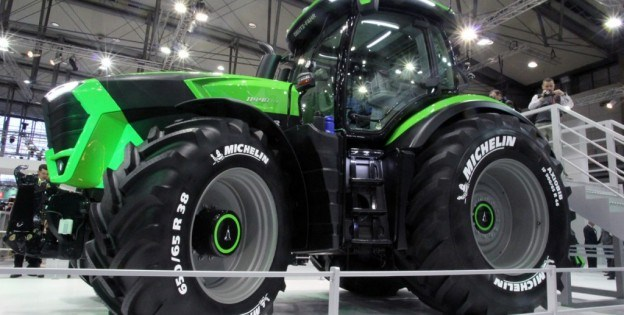 Compania Deutz-Fahr scoate pe piață un nou model de tractor