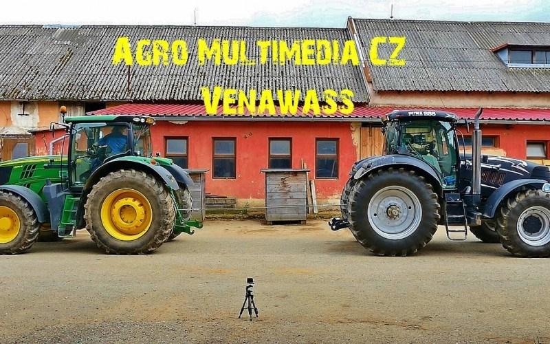 VIDEO. Care tractor este mai puternic – John Deere sau Case IH