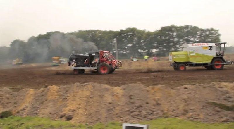 VIDEO. Cele mai rapide combine din lume