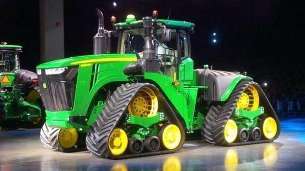 John Deere va prezenta cel mai performant tractor pe șenile