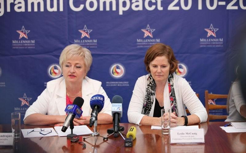 Programul Compact a luat sfârșit. S-au investit 262 mln de dolari în sectorul agricol și infrastructura rutieră