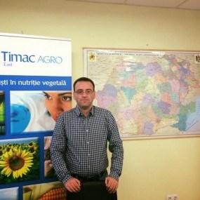 Interviu cu Mircea Valeriu, director Timac Agro East: Cu siguranță, fermierii din Moldova riscă mai mult decât cei din România