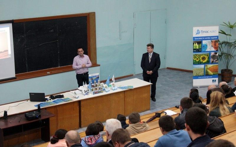 Timac Agro East crează legături durabile între mediul universitar și mediul de afaceri