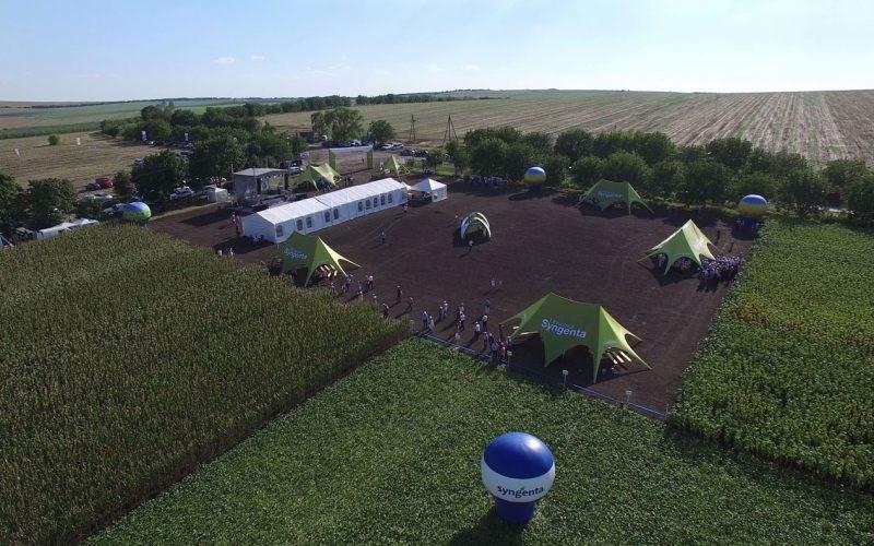 FOTO. VIDEO. Universul Syngenta de la Platforma Mărăndeni a impresionat fermierii din întreaga țară