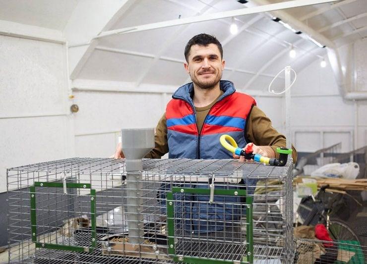 A lăsat Franța pentru o afacere cu iepuri acasă, la Ialoveni